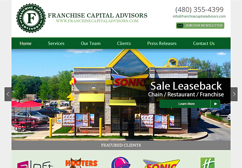 Responsive Web Design Franchise Capital Advisors