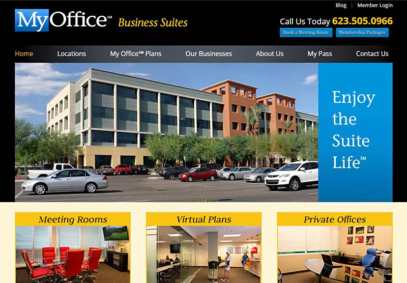 Web Design Phoenix My Office AZ
