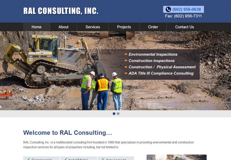 Web Design Portfolio RAL Consulting