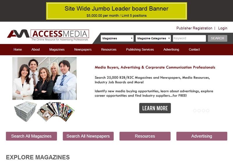 Web Design Portfolio Access Media