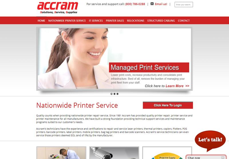 Web Design Portfolio Accram