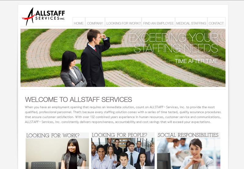 Web Development Portfolio All Staff Services