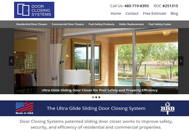Website Design Portfolio Door Closing Systems