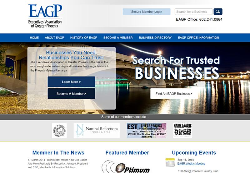 Web Design Portfolio EAGP