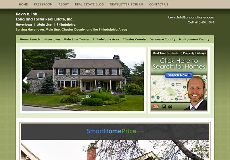 Web Design Real Estate Kevin Toll