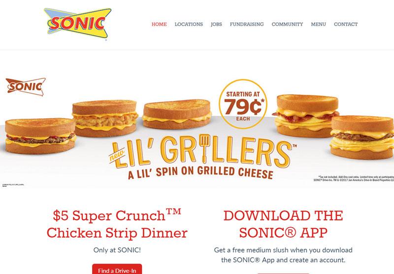Web Design Sonic