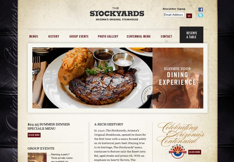 Website Development Stockyards