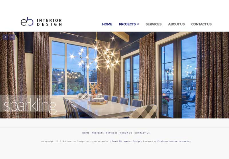 Website Design Scottsdale EB Interior Design