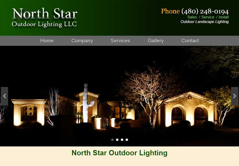 Website Designers North Star Lighting