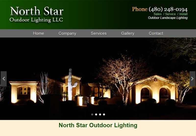 Website Designers North Star Lighting