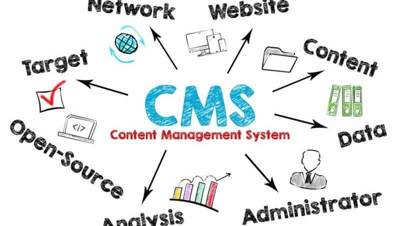 cms website management wordpress