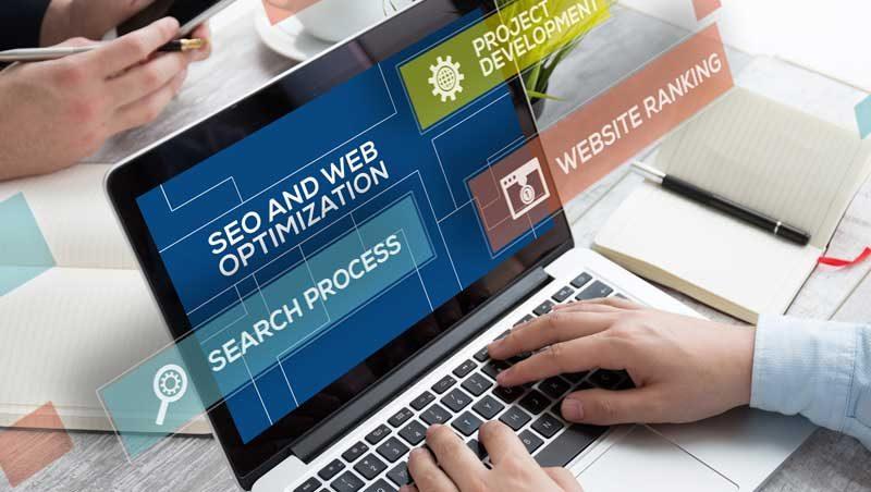 seo and web optimization graphic