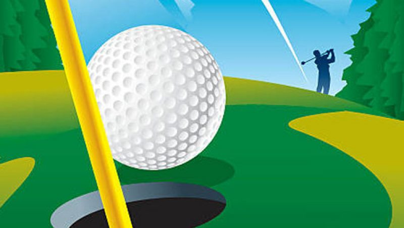 golf email marketing graphic