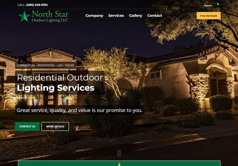 northstar website desktop snapshot