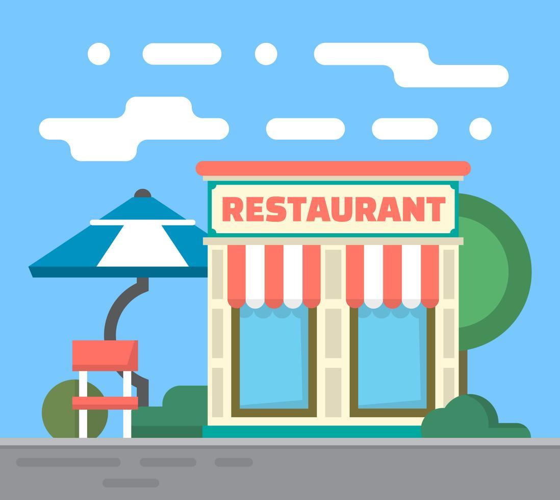 restaurant cartoon graphic