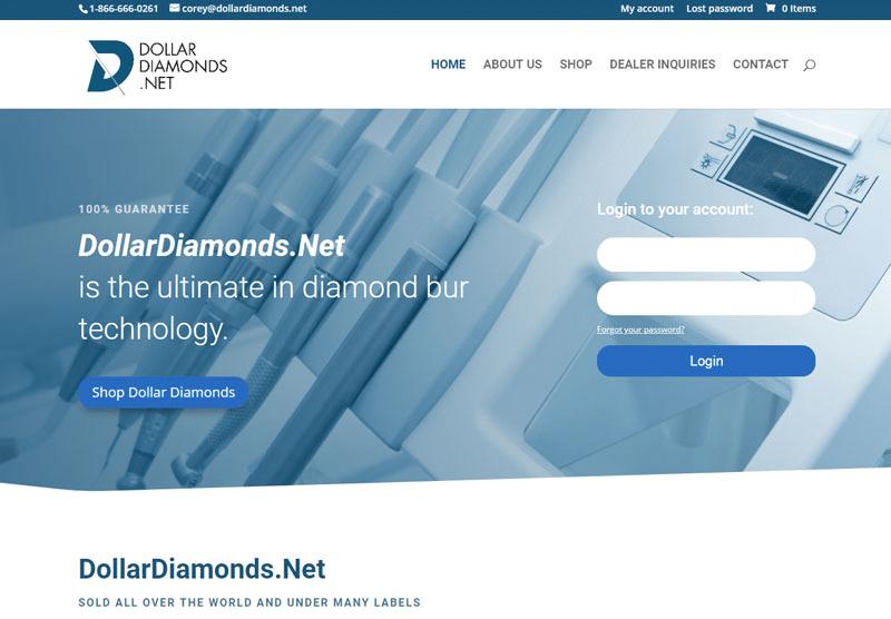 Dollar Diamonds desktop snapshot