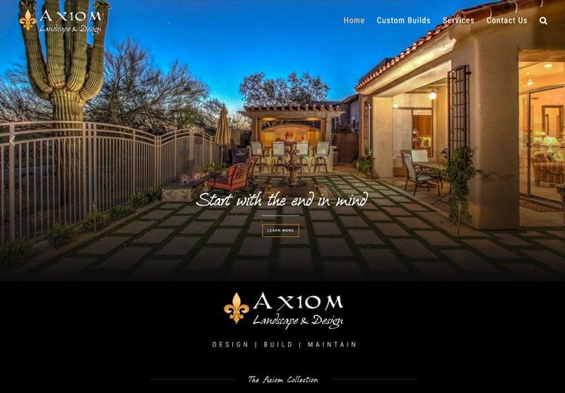 Axiom desktop snapshot