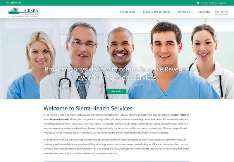 Sierra health services desktop sample