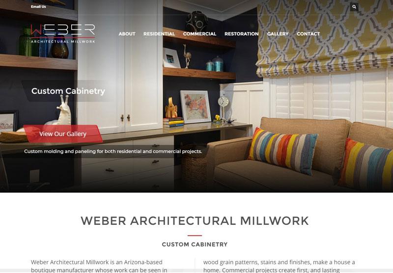 Weber desktop example