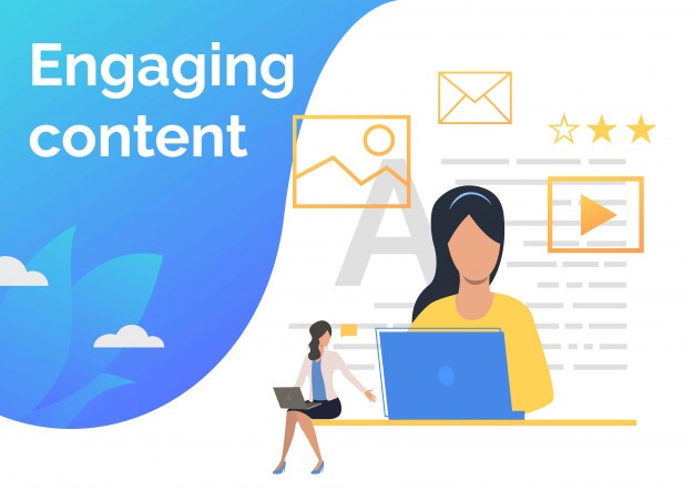 engaging content graphic