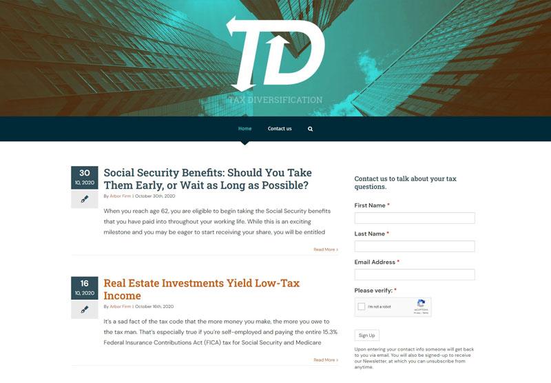 Tax Diversification